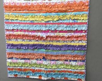 Baby Girls Ruffles quilt