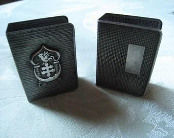 Vintage matchbox holders