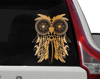 Owl Dreamcatcher Vinyl Decal