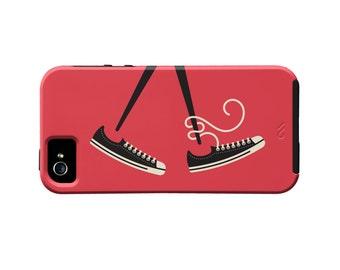Converse iPhone Case - Chuck Taylors - Shoe iPhone Case - Stylish iPhone Case - Chucks - Converse All Star - Converse Shoes Accessories
