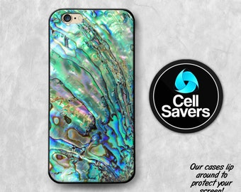 Abalone Shell iPhone 6s Case iPhone 6 Case iPhone 6 Plus iPhone 6s + iPhone 5c iPhone 5 iPhone SE Paua Shell Abalone Blue Turquoise Tumblr