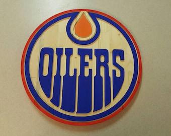 Edmonton Oilers logo NHL