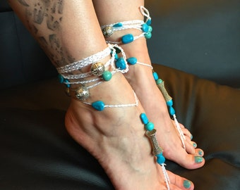 "Barefoot sandals ""the spoiled slave"""