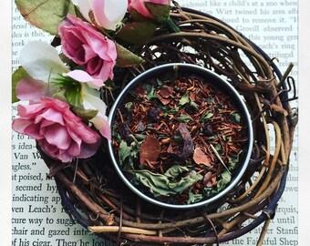 Choco Mint - Rooibos Tea- Luxury Loose Leaf Tea, rooibos, chocolate, mint, no caffeine, antioxidant, all natural, gypsy soul