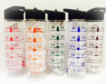 Motivational // Water Tracker // 24oz Bottle