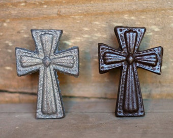 Rustic Cast Iron Cross Nail