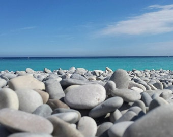 Blue/Summer/Nice/France/French Riviera/Rock/Spring/Home/Decoration/Art/Photography/Holidays/Sea/Sun/Fresh/Crystal/Water/Sky