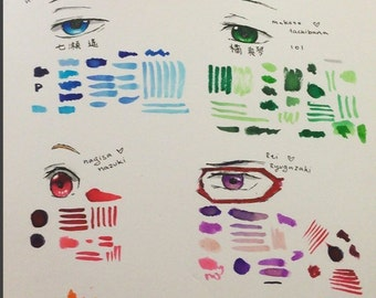 Anime Eyes Commissions