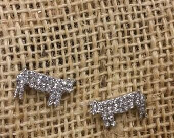 Show Pig Earrings