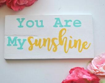 You Are My Sunshine Nursery Wall Art, Nursery Wall Decor, Nursery Decor, Kids Room Decor Kids Room art