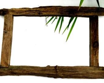 Large eco friendly Driftwood Mirror   Approx 44cm x 81cm
