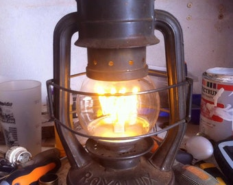 """""""Sale"""" converted oil lamp"""