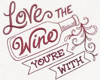 Wine Love  - Wine Tea Towels