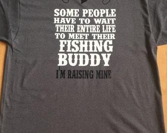 Men's Fishing Shirt, Father Daughter Fishing Shirt, Fishing Buddy, Father Son Fishing Shirt, Father's Day Gift, Dad Gift