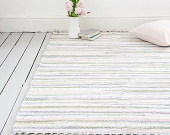 Pastel Rug / Handwoven  / The Agna