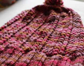 Instant download Knitting Pattern Hat - Scofflaw