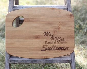 Personalized Cutting Board, Engraved Cutting Board, Custom Cutting Board, Wedding Gift, Housewarming Gift, Anniversary Gift, Engagement