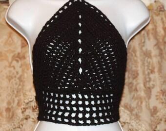 Crochet women or teen Halter/ Concert Halter
