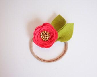Petite Shocking Pink Rose