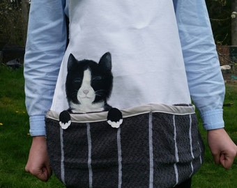 Pocket Kitty Apron