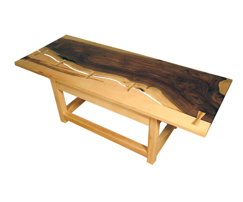 Claro Walnut And Maple Coffee Table By Designbychristopherw