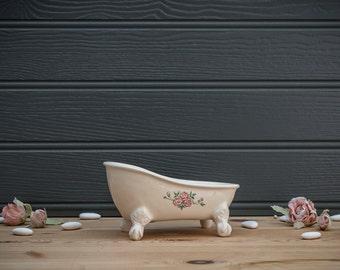 Vintage Style Bath Soap Dish