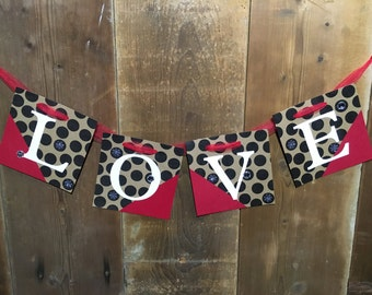 Love Banner + free shipping
