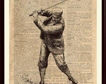 Golf Print, Golf Decor, Gift For Golfer, Golf Poster, Golf Art, Golfer Print, Sports Poster, Sports Decor, Golf Gifts, Sports Print, SKUG3
