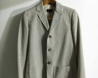 A.P.C. Pinstripe Jacket French
