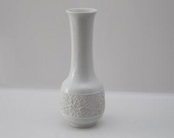 Hutschenreuther vase - porcelain and bisque