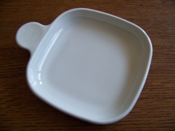 Corning Ware Grab It White Square Serving Plate Dish P 185 B