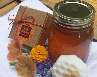 Shea Butter Bee hive Soap