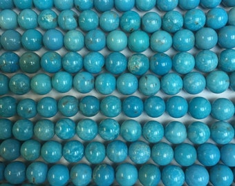 6MM genuine Chinese Turquoise AA quality beads