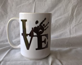 Jerry Garcia Love Coffee Mug