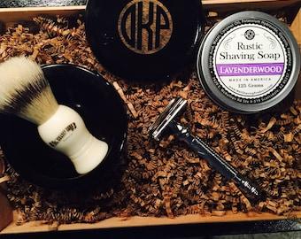 The Godfather Safety Razor Kit. Christmas Gifts For Him. Mens Gift. Husband Gift. Shaving Kit. Groomsmen Gifts. Safety Razor. Dad Gift.
