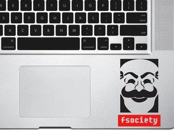 Fsociety Decal Sticker, vinyl sticker, macbook decal, macbook sticker, wall sticker, car decal, iphone decal, iphone sticker