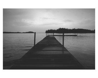 Lake - Black & White - Fine Art - Photography