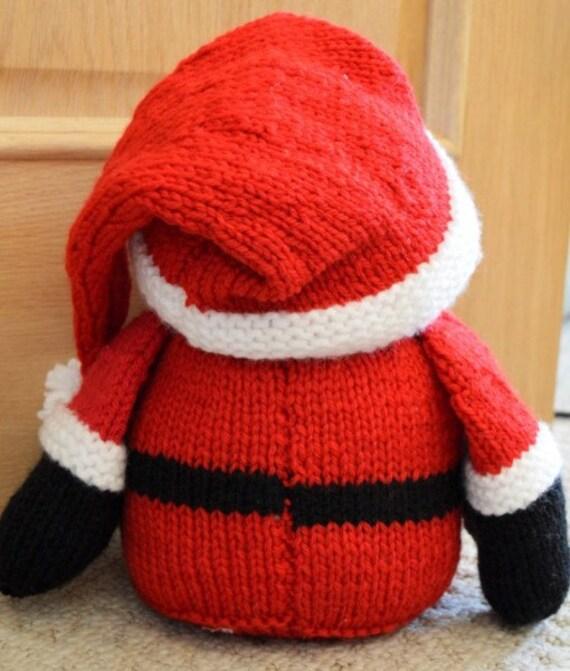 Santa Door Stop Knitting Pattern, Door Stop Knitting ...