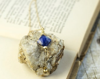 Fern- Sodalite Necklace