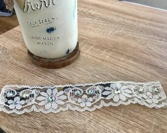 Daisy Lace Headband