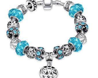 Colors of the Swedish Sea Pandora Inspired Bracelet