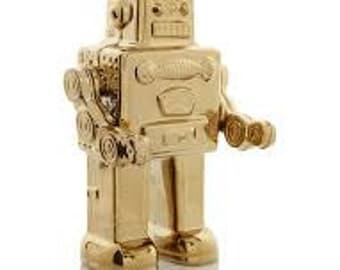 Seletti Limited Edition Gold Robot