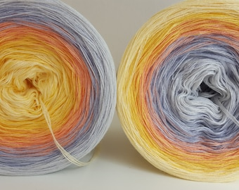 GOLDY gradient designer yarn yardage can be selected
