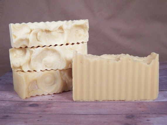 All Natural, Honeysuckle, Cold Process Soap