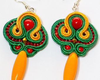 "Earrings ""Chile"""