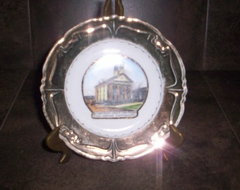 Vintage John Brown Courthouse Collectible Plate