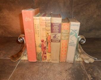 Tan/Orange Colored Book Set