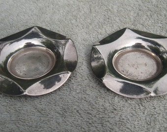 Pin Dishes - Silver Plated - Richard Richardson - Vintage Silverplate