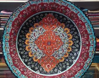 Turkish Handmade Ceramic Plate