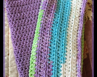 Set of 2 Crochet Washcloth/Dishcloth